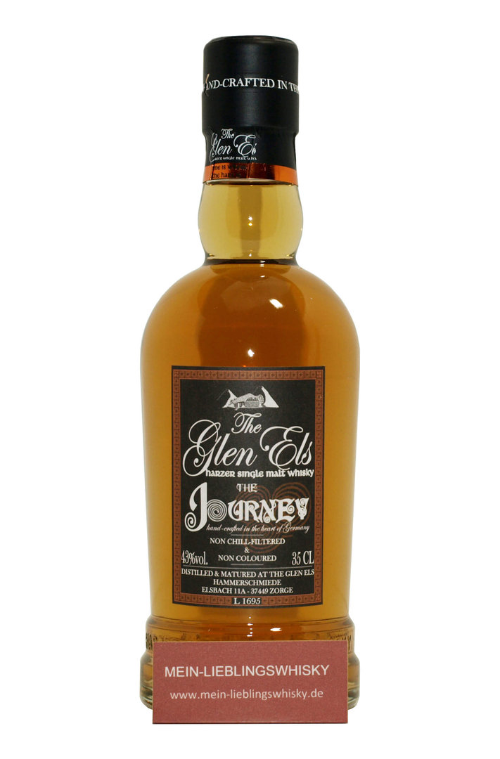 GLEN ELS The JOURNEY 43% Harzer Single Malt Hercynian Single Malt ...