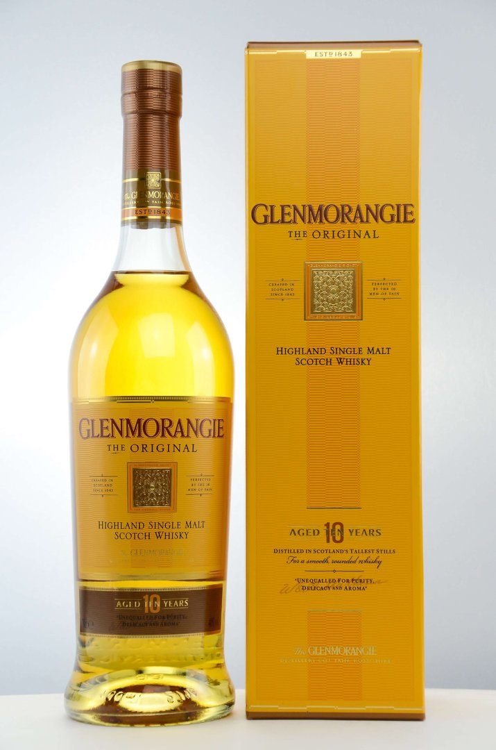 Glenmorangie Original 10 Jahre Single Malt Whisky 40,0% vol. - 0,7 l