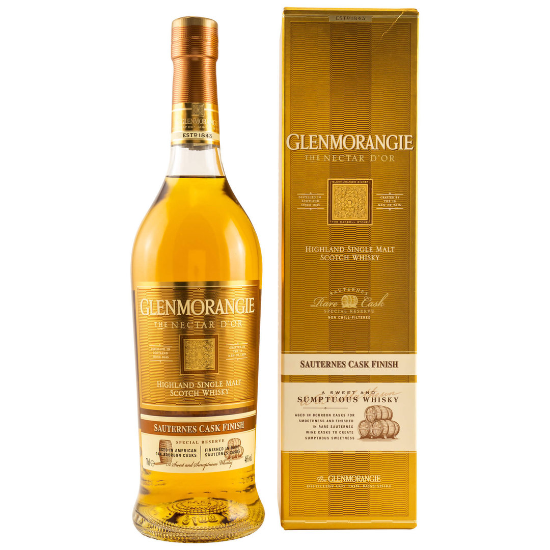 Glenmorangie Nectar d'Or 12 Jahre Single Malt 46,0% vol. - 0,7 Liter