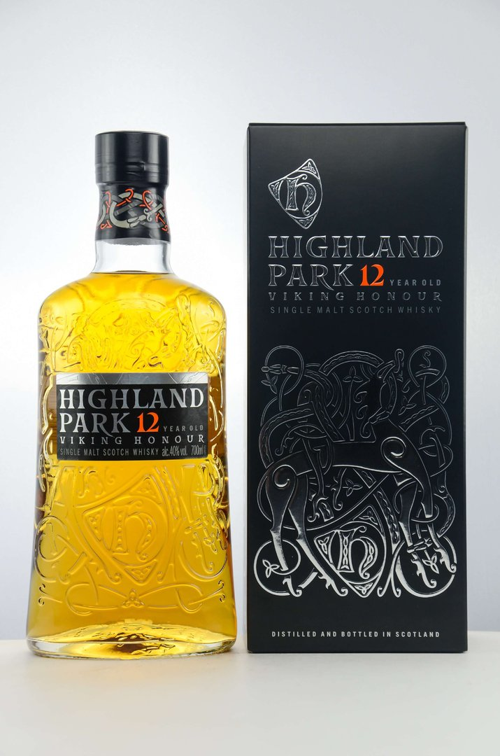 Highland Park 12 Jahre Single Malt Whisky 40,0% vol. - 0,7 Liter