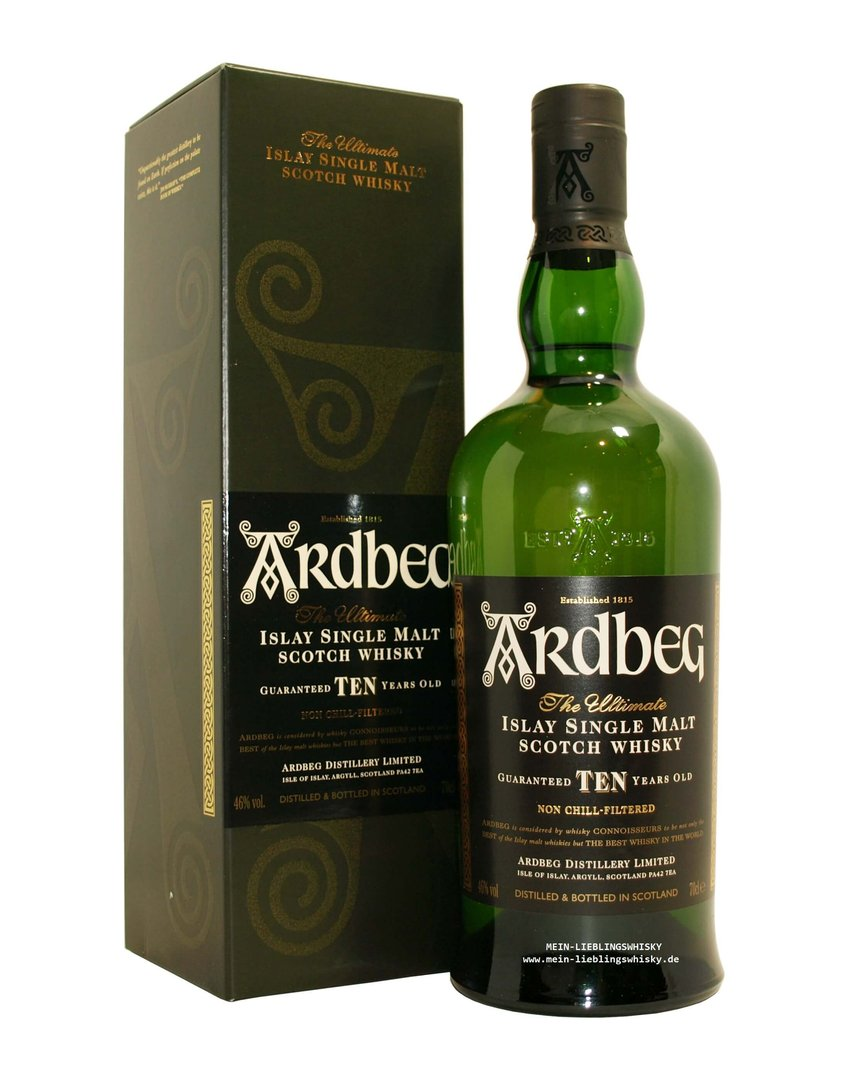 Ardbeg TEN Islay Single Malt Whisky  46,0% vol. - 0,7 Liter