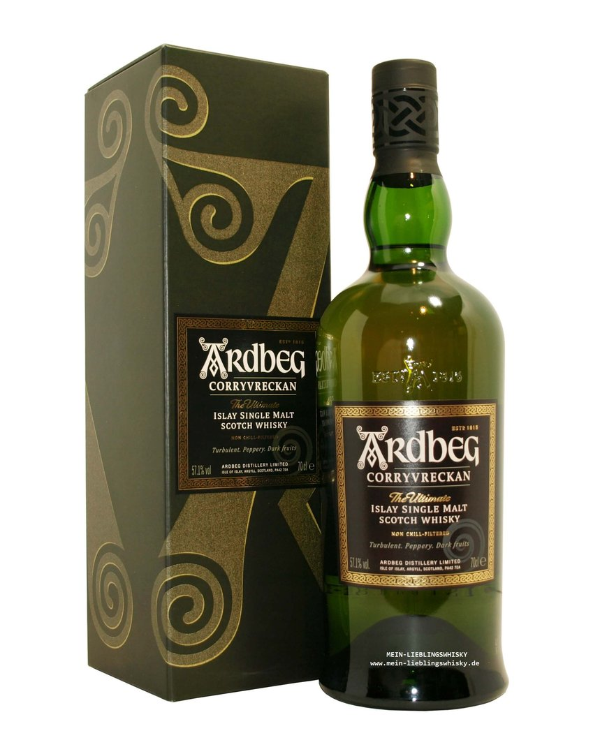 Ardbeg Corryvreckan Islay Single Malt Whisky  57,1% vol. - 0,7 Liter