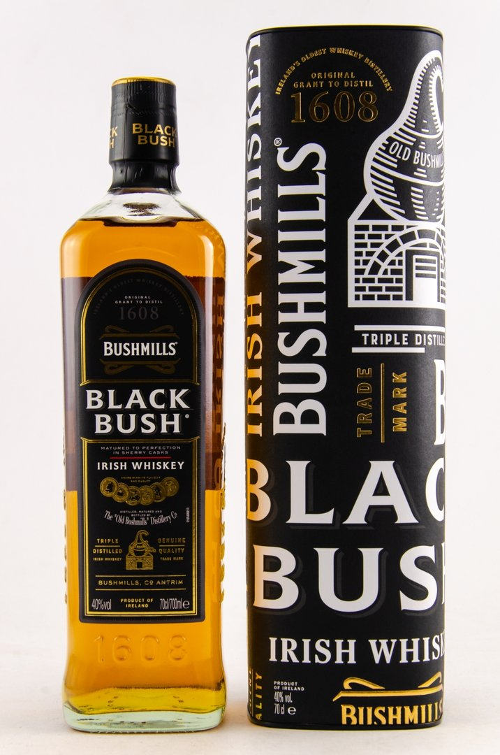 Bushmills Black Bush Irish Blend Whiskey 40,0% vol. - 0,7 Liter
