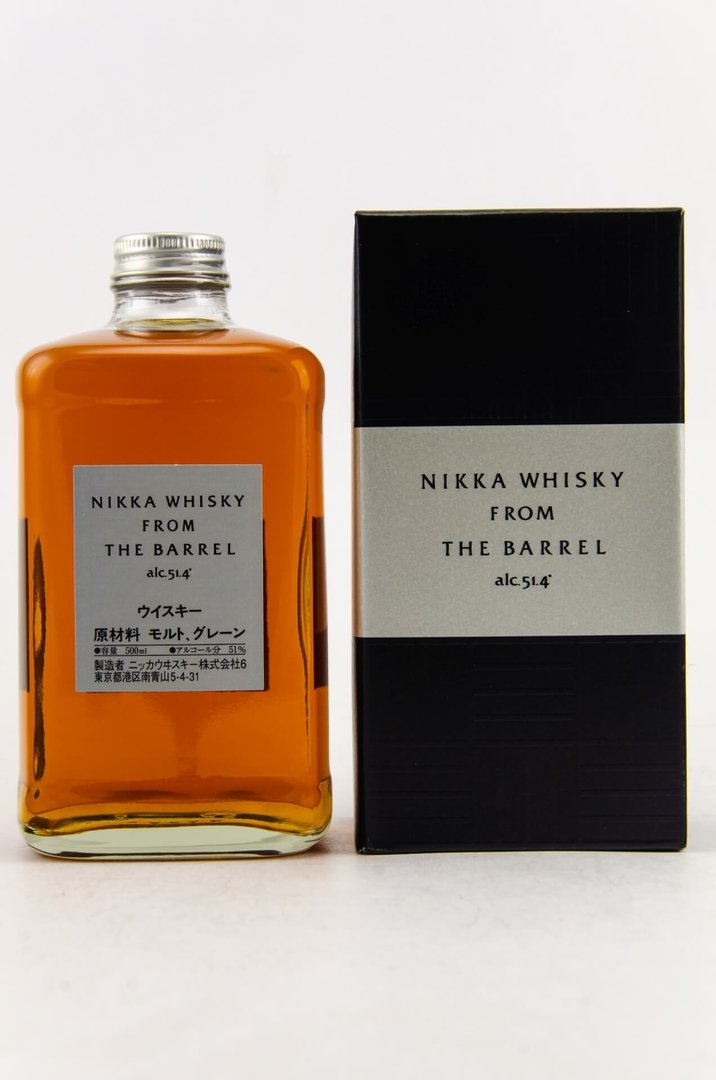 Nikka from the Barrel Japan Blended Whisky - 51,4% vol. - 0,5 Liter