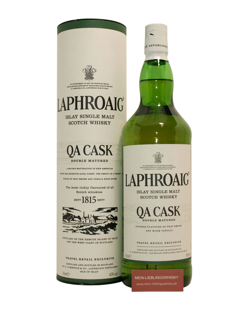 Laphroaig QA Cask Single Malt Whisky  40,0% vol. - 1,0 Liter
