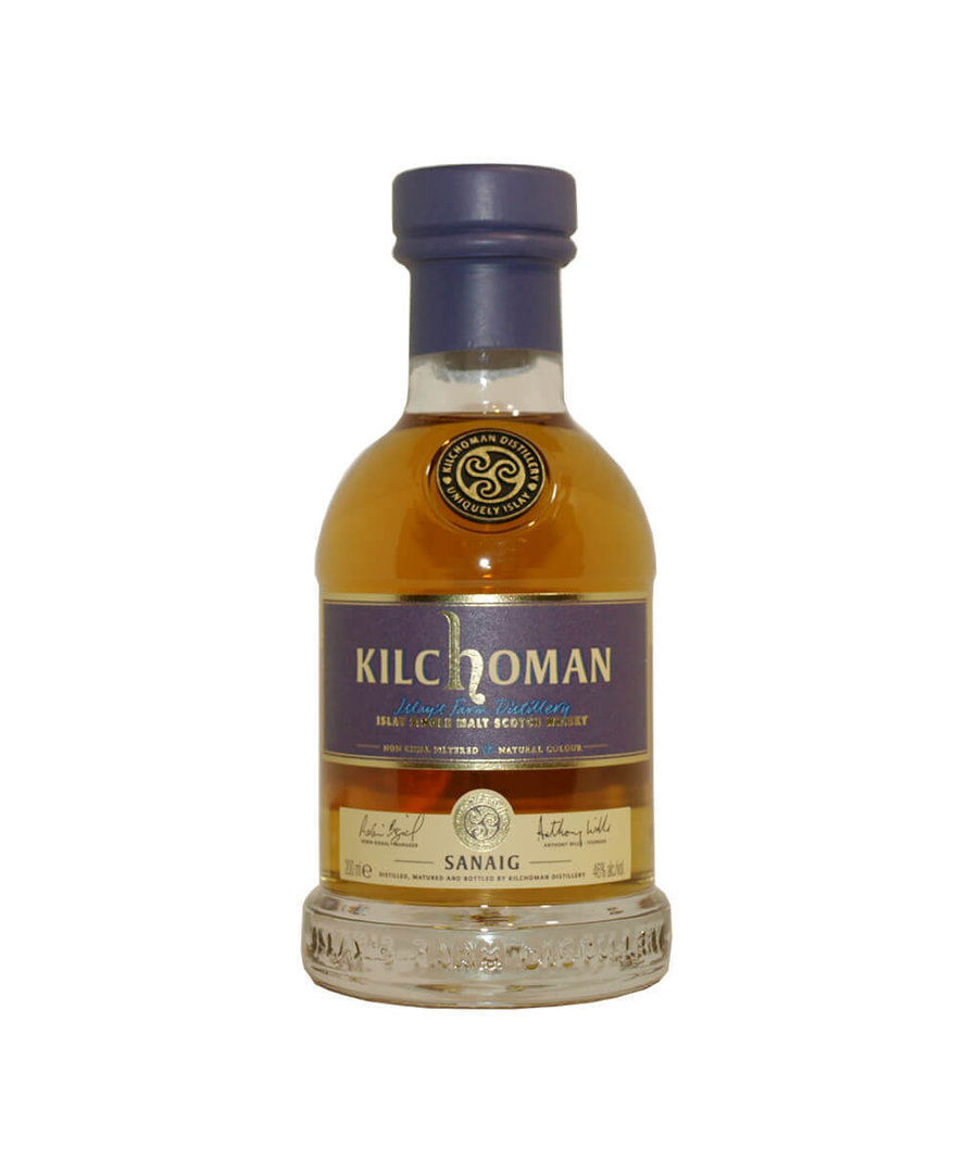 Kilchoman Sanaig Single Malt Whisky 46,0% vol. - 0,2 Liter