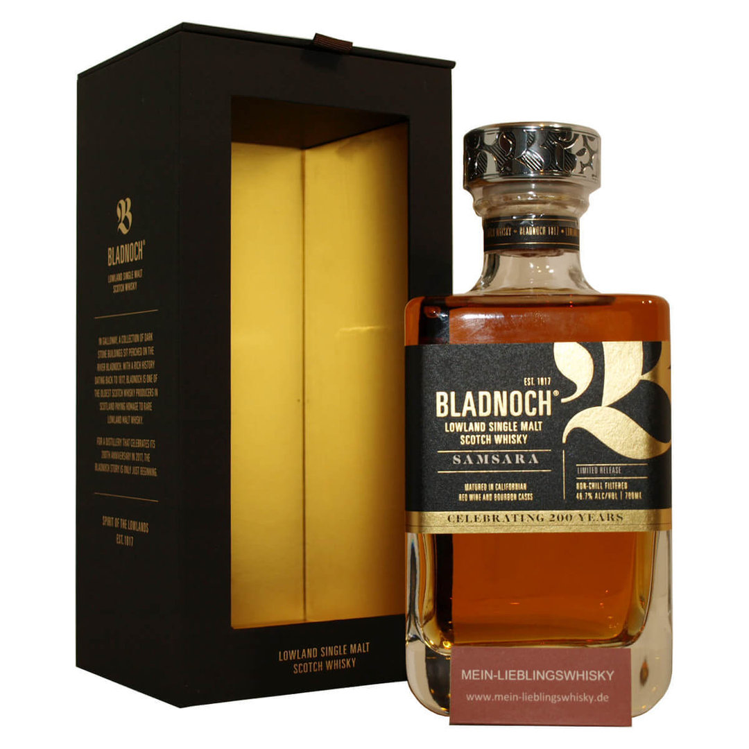 Bladnoch Samsara Single Malt Whisky 46,7% vol. - 0,7 Liter