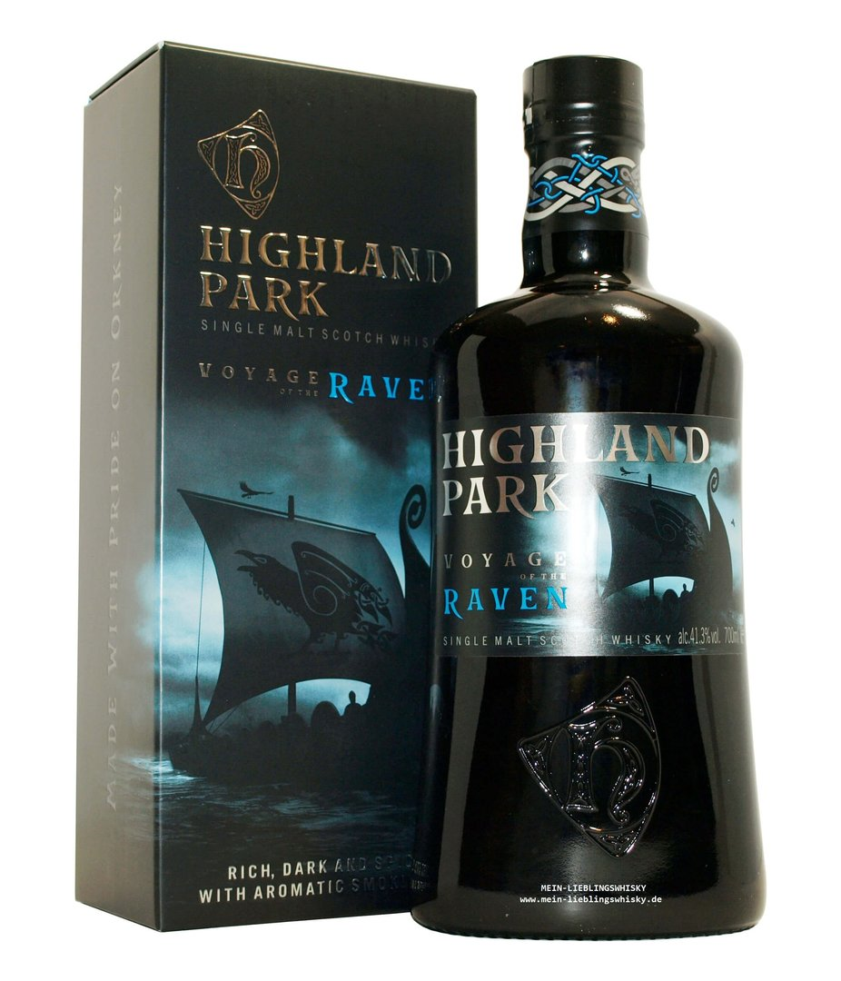 Highland Park Voyage of the Raven 41,3% vol. - 0,7 Liter