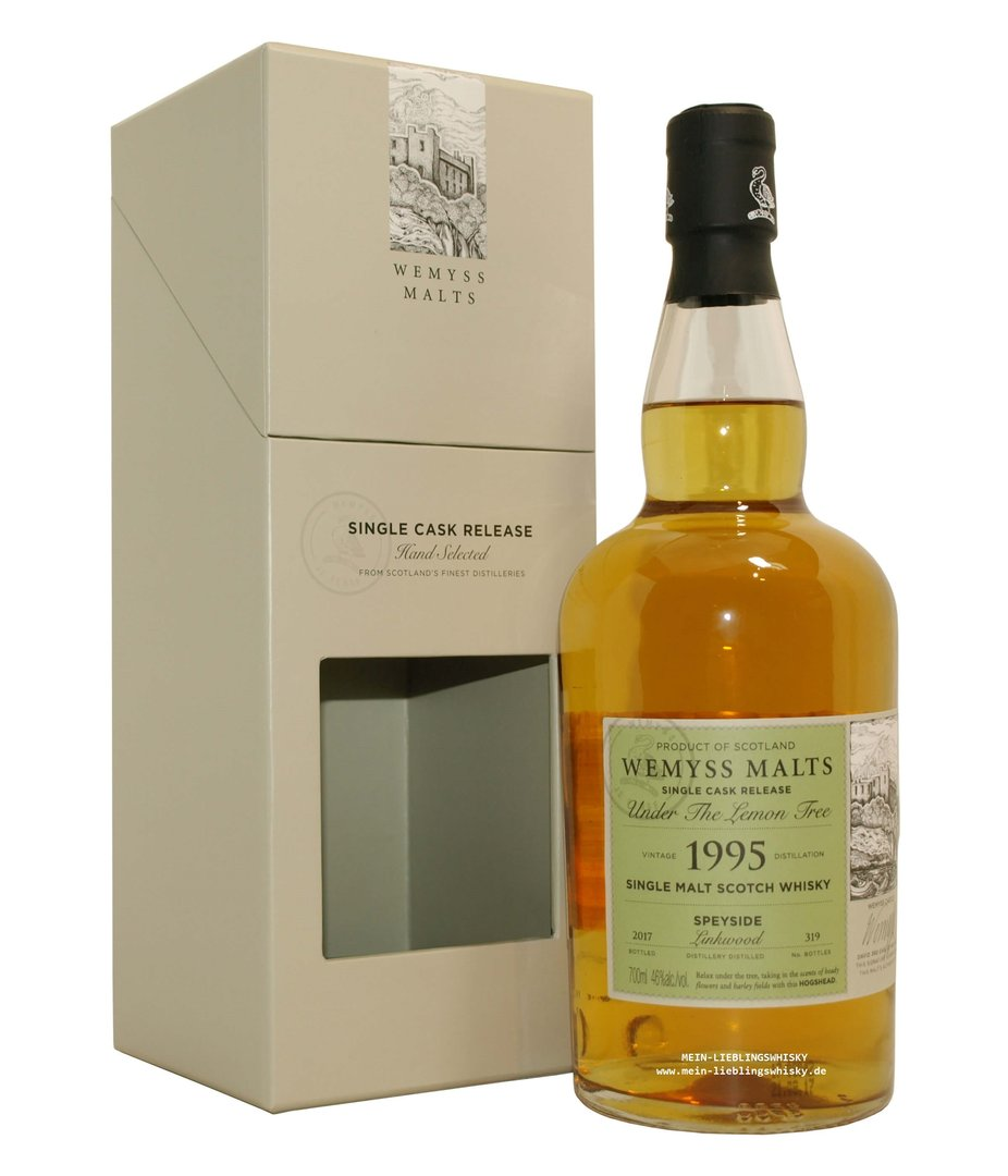 "Wemyss Linkwood ""Under the Lemon Tree"" 46,0% vol. - 0,7 Liter"