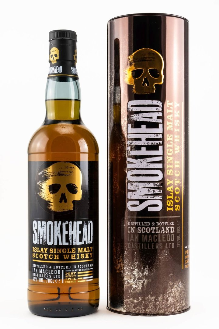 Smokehead Islay Single Malt Whisky - 43,0% vol. - 0,7 Liter