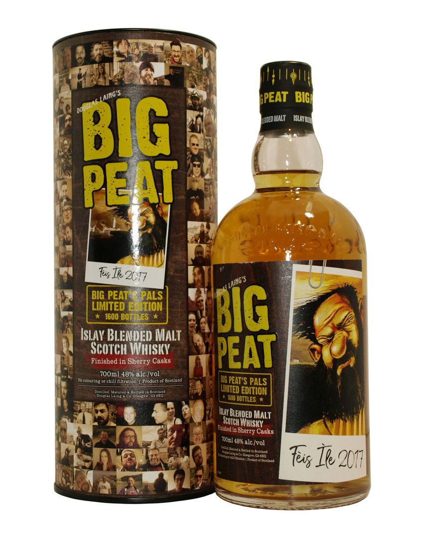 Big Peat Feis Ile 2017 Blended Malt 48,0% vol. - 0,7 Liter