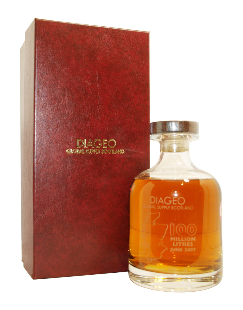 Diageo 100 Million Litres Scotch Whisky 49,1% vol. - 0,75 Liter