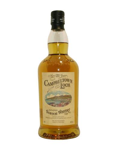 Campbeltown Loch 21 Jahre Blended Malt Whisky 40% vol. - 0,7 Liter