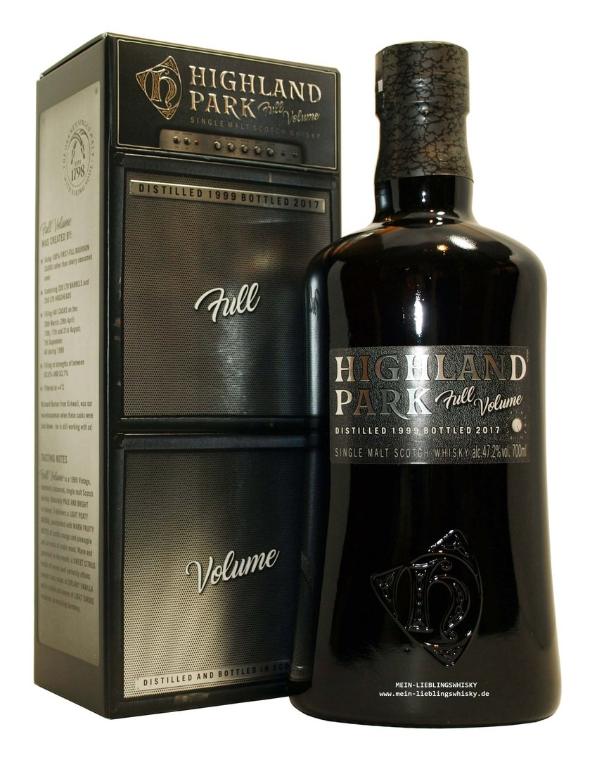 Highland Park Full Volume Single Malt Whisky 47,2% vol. - 0,7 Liter