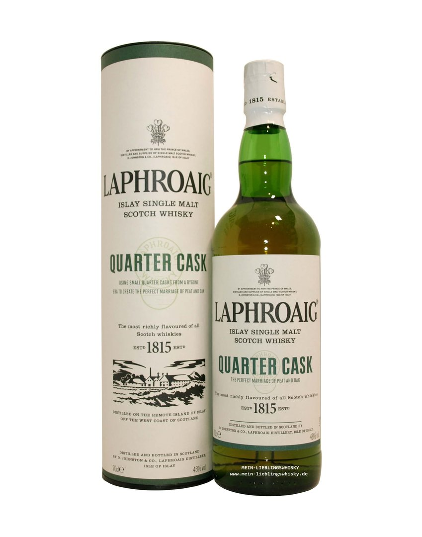 Laphroaig Quarter Cask Single Malt Whisky  48,0% vol. - 0,7 Liter