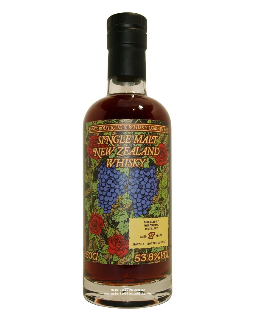 Wilowbank 17 Jahre Boutique-y Whisky Company 53,8% vol. - 0,5 Liter