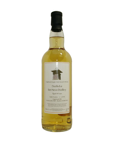 Ben Nevis 18 Jahre Whiskybroker Single Malt 43,0% vol. - 0,7 Liter