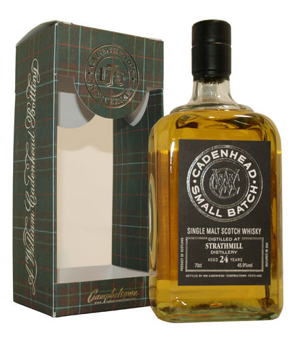 Cadenheads Strathmill small batch 24 Jahre - 45,9% vol. - 0,7 Liter
