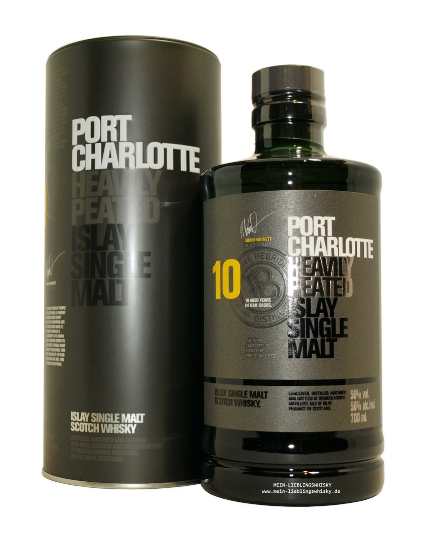 Port Charlotte 10 Jahre Edition 2018 - 50,0% vol. - 0,7 Liter