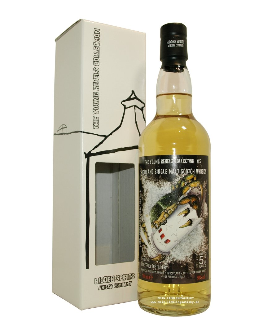 Hidden Spirits Old Pulteney Single Malt Whisky 51,2% vol. - 0,7 Liter