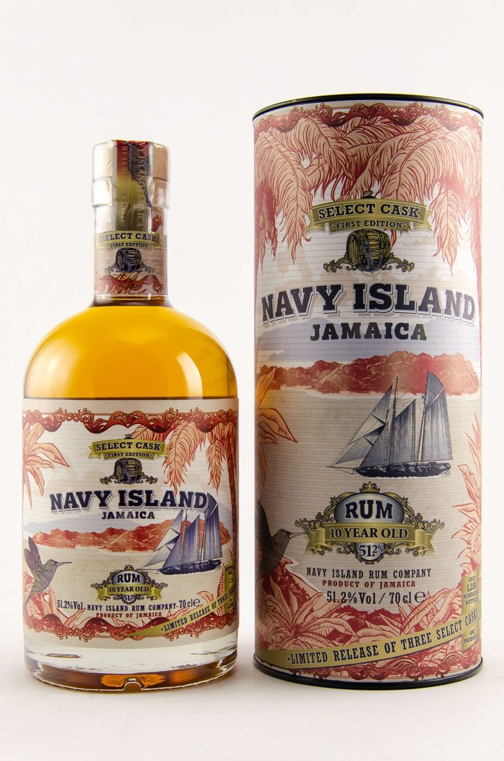 Navy Island Select Cask 1st Edition Hampden Estate 10 y.o. 0,7 Liter