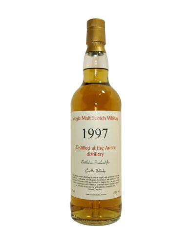 Arran 1997/2017 private bottling 53,0% vol. - 0,7 Liter