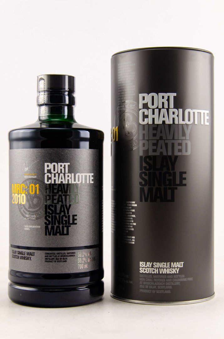 Port Charlotte MRC:01 2010/2018 - 59,2% vol. - 0,7 Liter