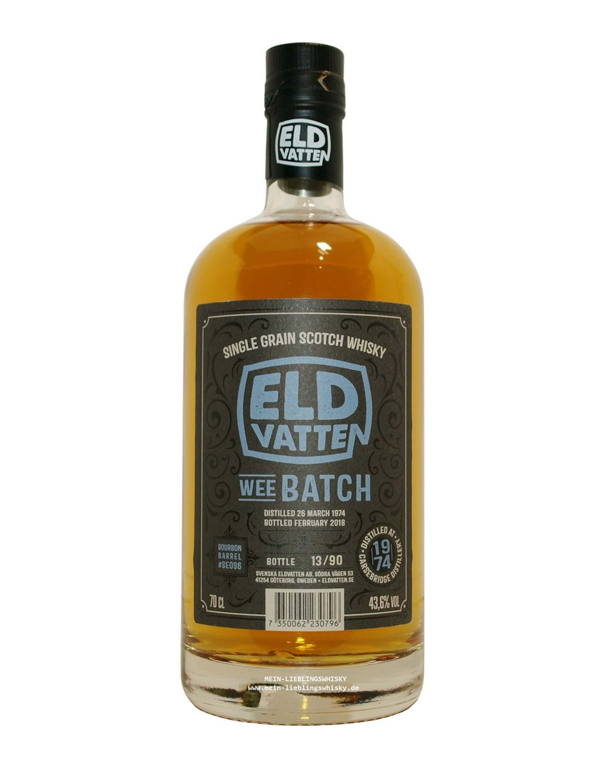 Eldvatten Carsebridge 43 Jahre Single Grain 43,6% vol. - 0,7 Liter