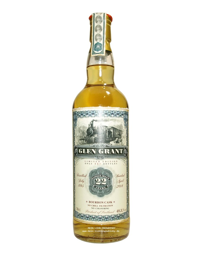 Jack Wiebers Glen Grant 22 Jahre Single Malt 48,3% vol. - 0,7 Liter