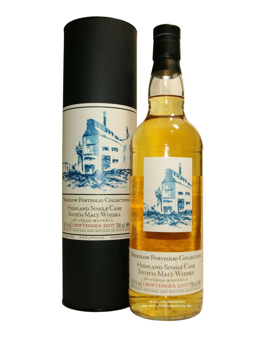 Jack Wiebers Croftenga 2007 Single Malt Whisky 58,5% vol. - 0,7 Liter