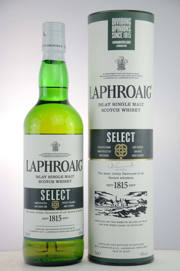 Laphroaig Select Single Malt Whisky  40,0% vol. - 0,7 Liter