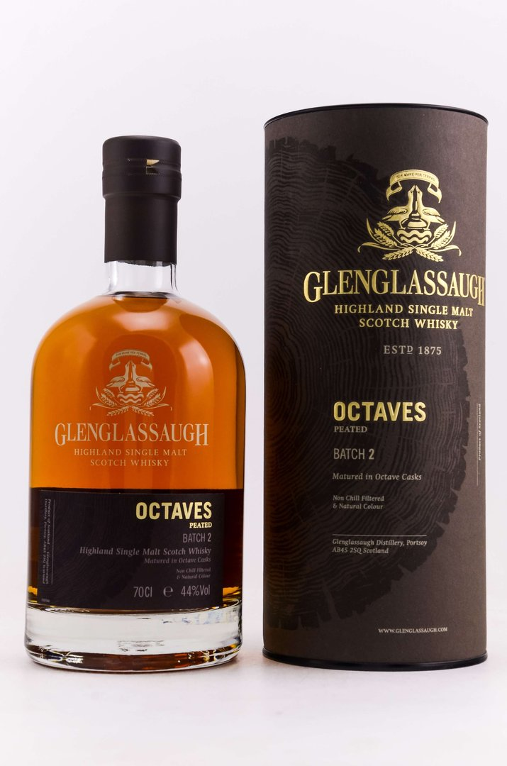 Glenglassaugh Octaves Peated - Batch No. 2 - 44,0% vol. - 0,7 Liter