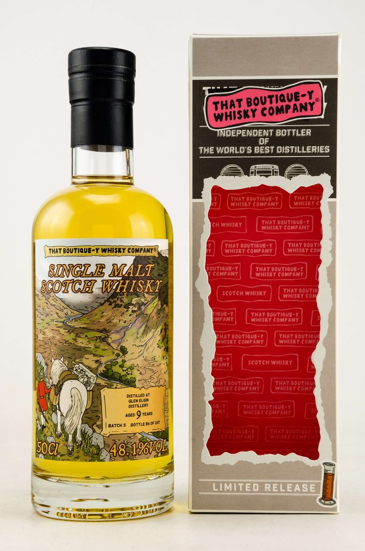 Glen Elgin 9 Jahre Boutique Whisky Company 48,1% vol. - 0,5 Liter