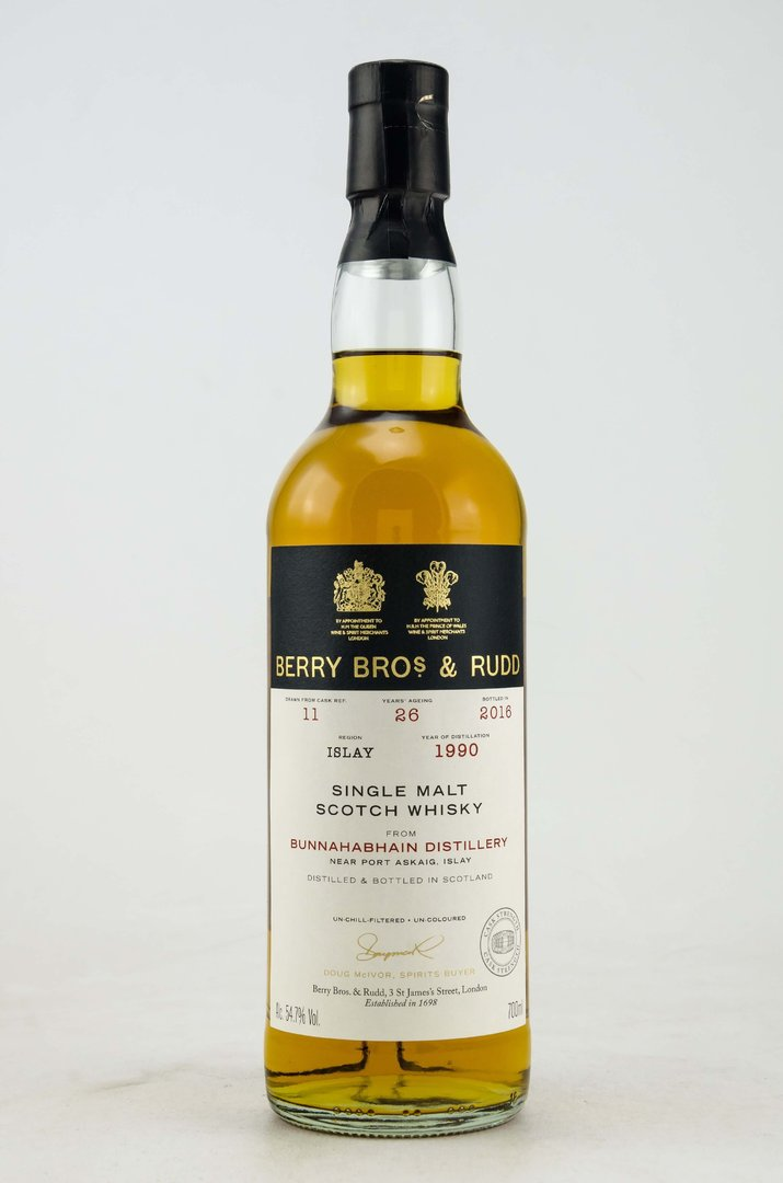 Bunnahabahin 26 Jahre Single Malt Whisky 54,7% vol. 0,7 Liter