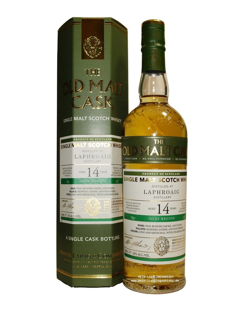 Hunter Laing Laphroaig 14 Jahre Single Malt 50,0% vol. - 0,7 Liter