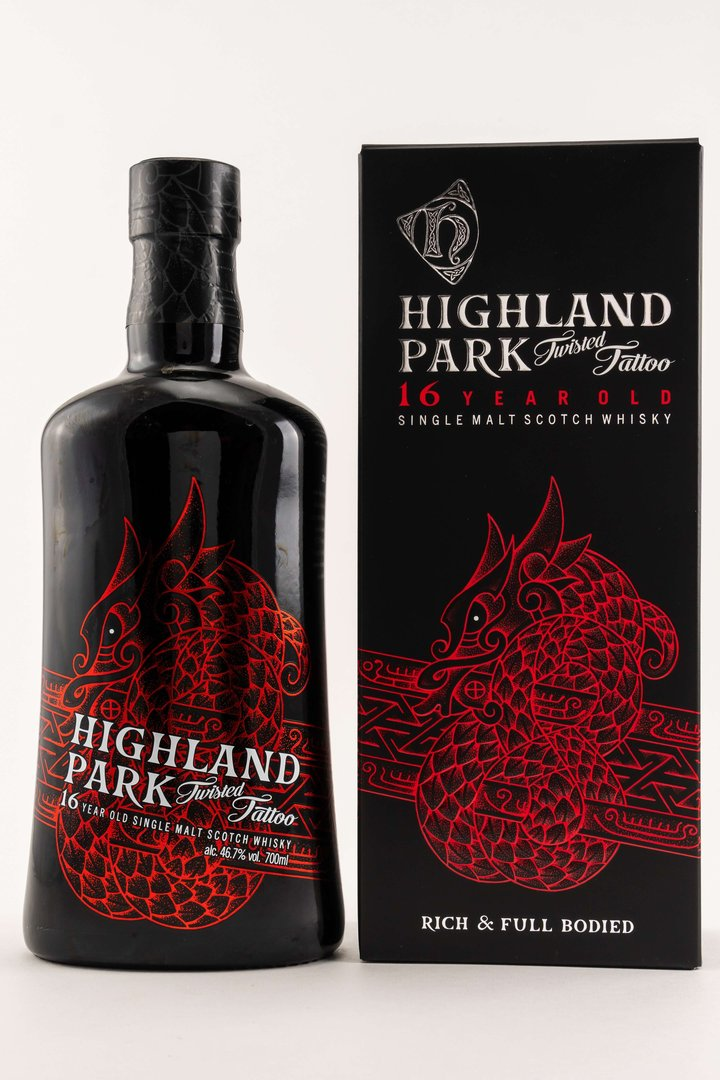 Highland Park 16 y.o. Twisted Tattoo 46,7% vol. - 0,7 Liter