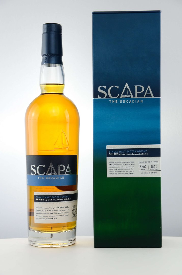 Scapa The Orcadian Skiren Single Malt Whisky 40,0% vol. 0,7 Liter