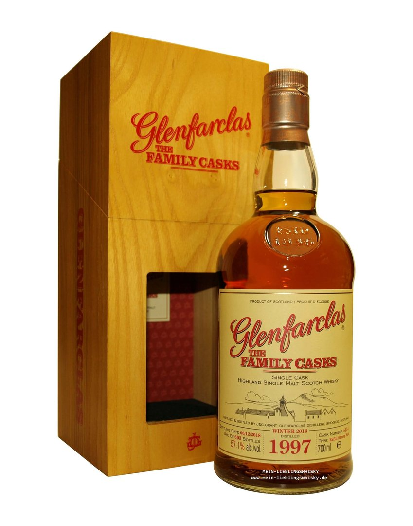 Glenfarclas Family Casks 1997/2018 / W18 - 57,1% vol. 0,7 Liter