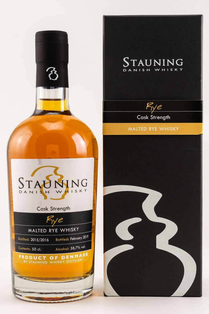 Stauning Rye Cask Strength February 2019 - 58,7% vol. - 0,5 Liter