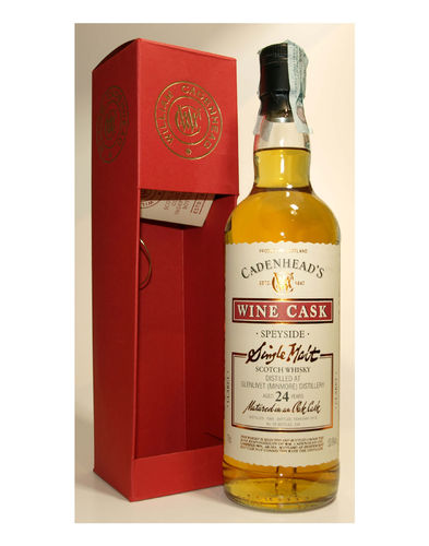 Cadenhead Glenlivet 1988/2013 Single Malt 53,9% vol. - 0,7 Liter