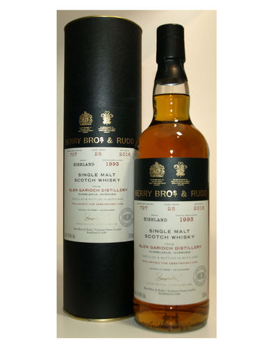 Glen Garioch 1993/2018 Berry Bros. & Rudd 54,9% vol. - 0,7 Liter