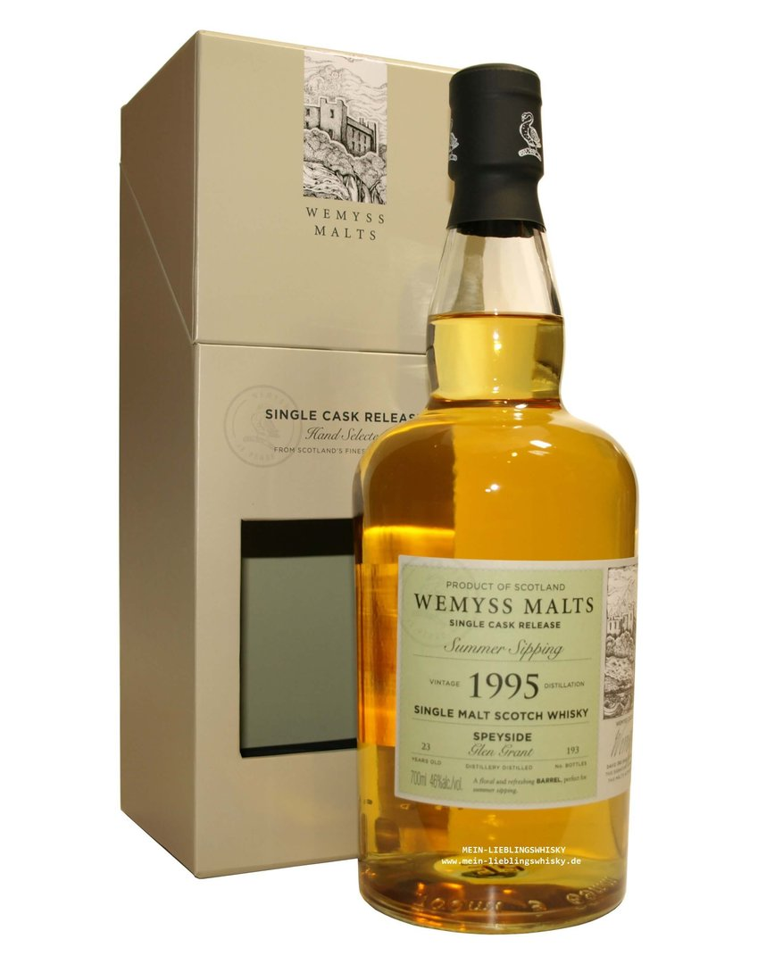 "Wemyss Glen Grant ""Summer Sipping"" 46,0% vol. - 0,7 Liter"