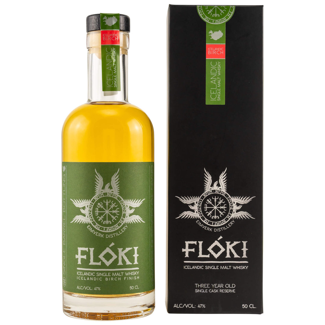 Floki Single Malt Whisky Birch Finish 47,0% vol. 0,5 Liter