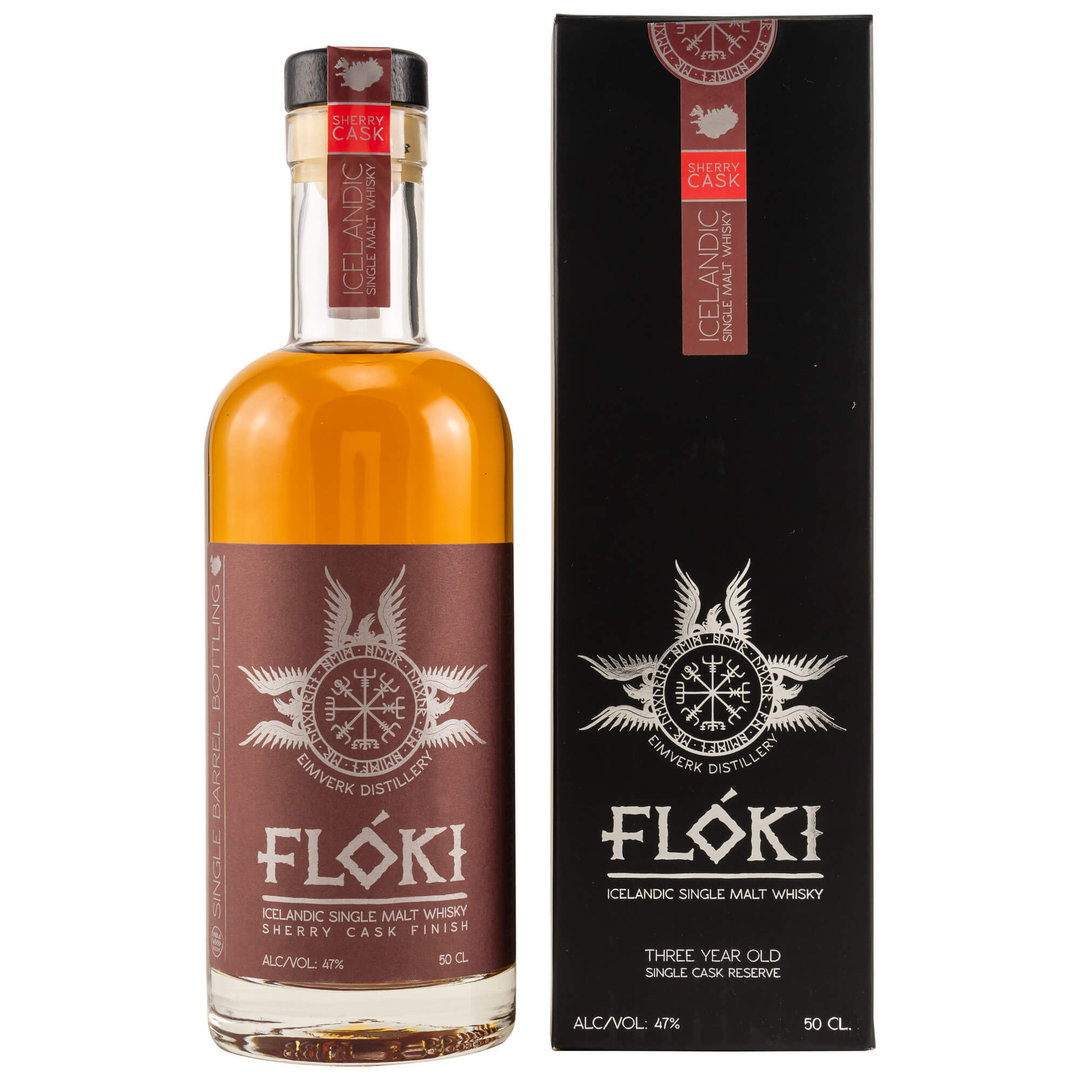 Floki Single Malt Whisky Sherry Finish 47,0% vol. 0,5 Liter