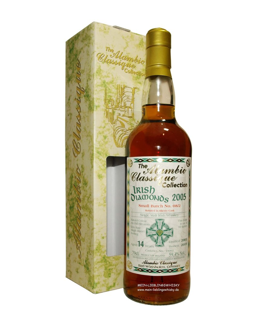 Irish Diamonds Batch #8/2 Single Malt Whiskey 59,4% vol. - 0,7 Liter