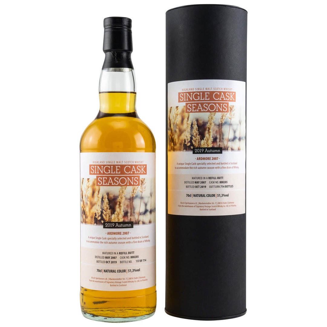 Single Cask Seasons Autumn 2019 - Ardmore 51,3% vol. - 0,7 Liter