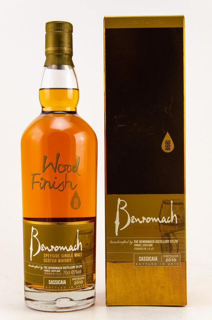 Benromach Sassicaia Finish 2010/2018 - 45,0% vol. 0,7 Liter