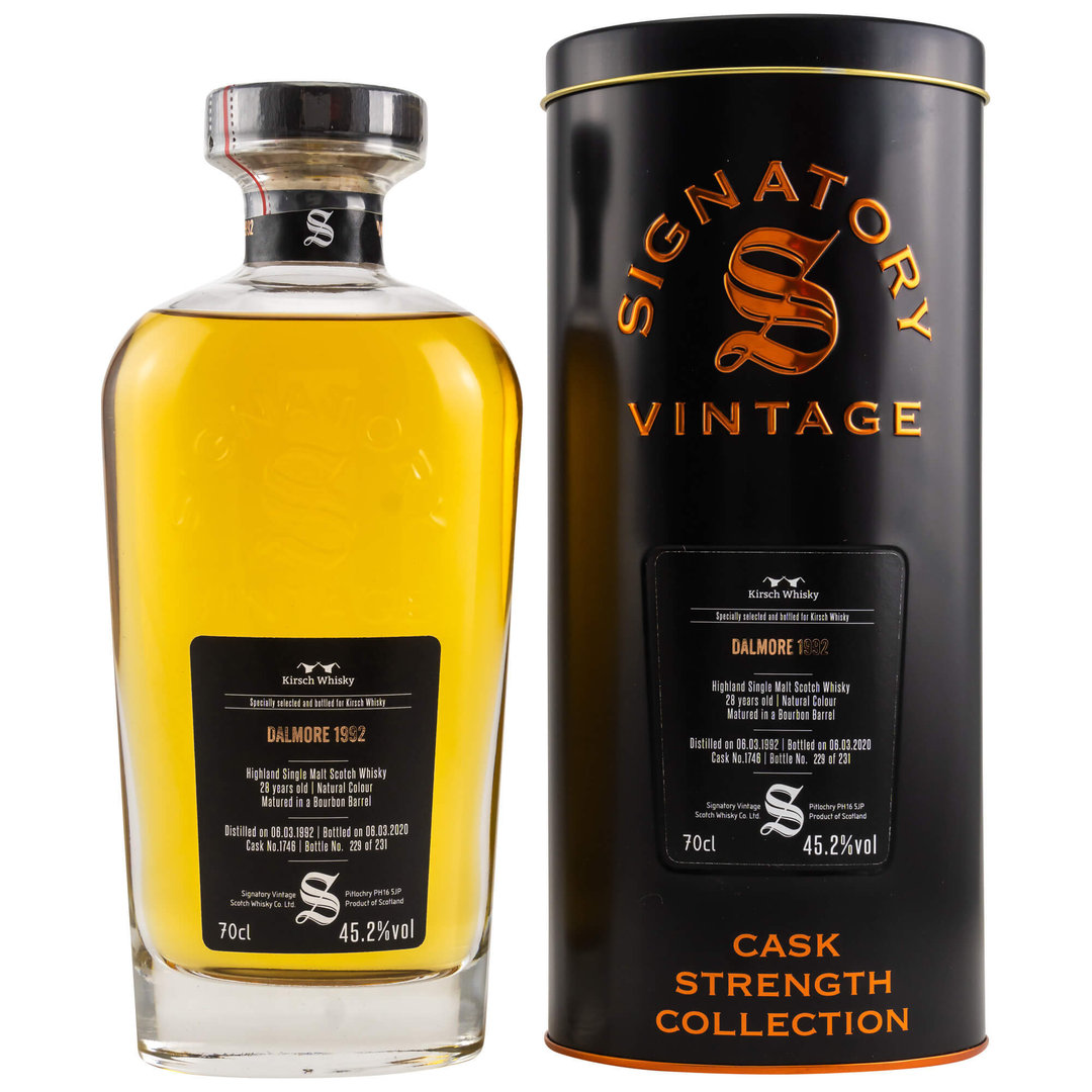 Signatory Vintage Dalmore 28 Jahre Single Malt 45,2% vol. - 0,7 Liter