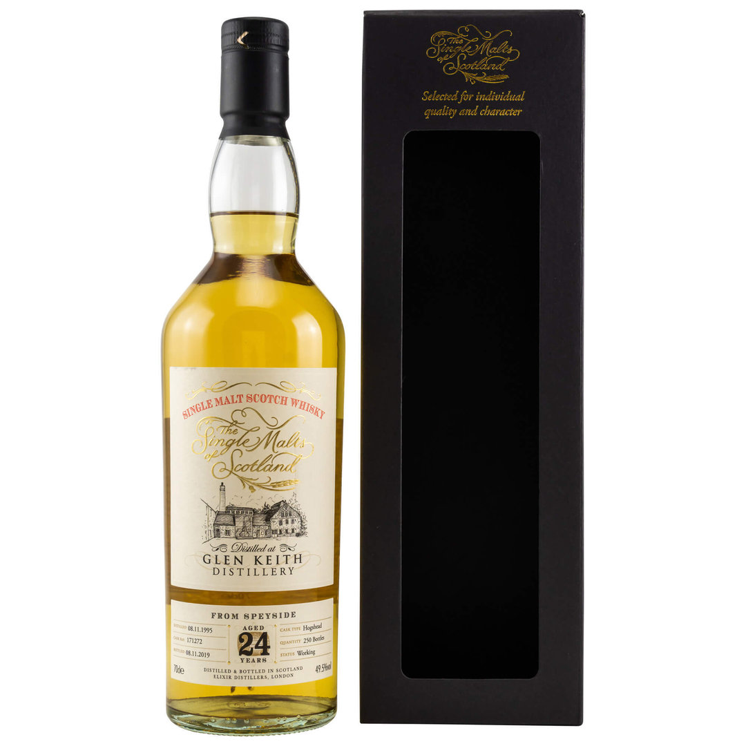 SMoS Glen Keith 1995/2019 Single Malt Whisky - 49,5% vol. 0,7 Liter
