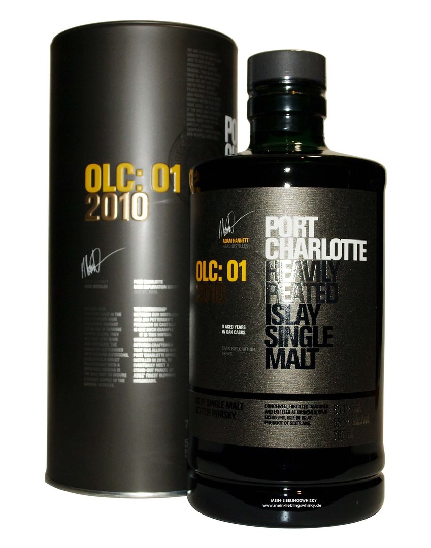 Port Charlotte OLC:01 2010/2020 - 55,1% vol. 0,7 Liter